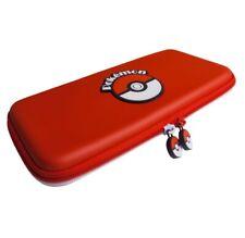 Borsa Custodia Case Cover rigida antiurto Nintendo Switch Pokeball Edition