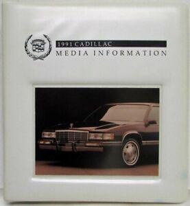 1991 Cadillac Media Information Press Kit - Allante Fleetwood DeVille Seviille