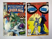 Peter Parker The Spectacular Spider-Man Lot of 2 Comics: Issues 34 70 Marvel