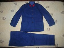 Obsolete 65's China PLA Navy General and Officer Winter Wool Uniform and Pants