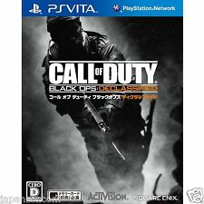 Call of Duty: Black Ops Declassified PS Vita SONY JAPANESE NEW JAPANZON