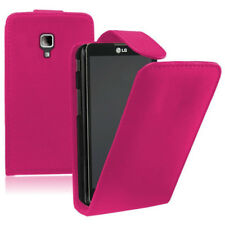 Leatherette Phone Protective Case With Cover For LG Optimus L7 II P710/L7X P714