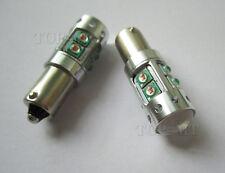 2x amber BA9s car 50W 2 Cree xbd High Power LED lights bulbs BA9 3886X 57 53