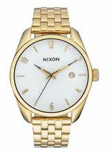 Nixon Bullet Gold / White Watch A418 508 / A418-508 / A418508