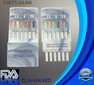 (5 Pack) 12 Panel Urine Multi-Drug Test, FDA Approved, CLIA waived