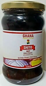 Ghana  Shito -Spicy -  Scharf Chilli Sauce (320g)