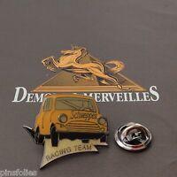 Pin's Folies *** Demons et Merveilles Automobile  Austin rallye Schweppes Racing