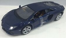 Maisto - 31210 - Lamborghini Aventador LP700-4 Scale 1:24 - Metallic Blue