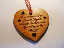 True Friends Are Never Apart Maybe In Distance But Never In Heart - Decoration
