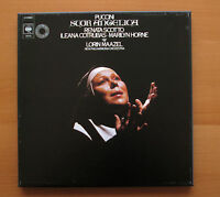 CBS 76570 Puccini Suro Angelica Renata Scotto Lorin Maazel Box Set + booklet NM