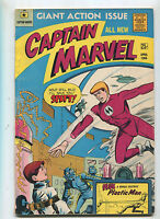 Captain Marvel #1 VG+ Plus Plastic Man All New  Marvel Comics CBX34