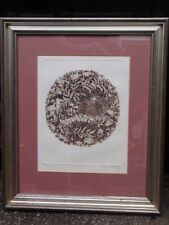 "JENNY TAPPING FRAMED ""HOME"" NUMBERED 14/75 SIGNED LIMITED EDITION ETCHING"