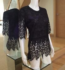 Zara Lace Semi Fitted Tops & Shirts for Women