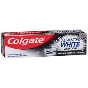 Colgate Advanced White Charcoal Toothpaste Whiter Teeth in 14 Days 75 ml