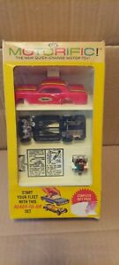 IDEAL Motorific 1965 Mustang Gift Pack w/ original box untested but very clean