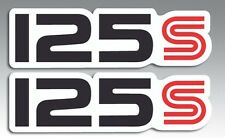 SUZUKI DR125 DR125S DR 125 S SD SIDE COVER DECALS Part # 68131-05220-89R