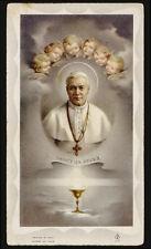 """santino-holy card""""""""ediz. FB serie 5 n.77 S.PIO X PAPA"""