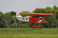 WWI 1/4 Scale  Fokker D-VII  88 inch   Giant Scale RC Model AIrplane  Plans