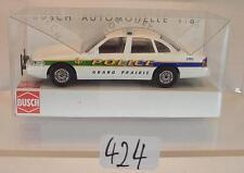 Busch 1/87 Nº 49014 Ford Crown Victoria U.S. grand Prairie POLICE neuf dans sa boîte #424
