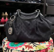 NEW AUTHENTIC BLACK GUCCI SUKEY MEDIUM TOTE