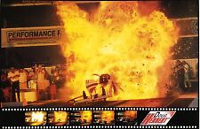 Doug Herbert EXPLOSION POSTER FROM POMONA 1999 With FREE CARD! NHRA TOP FUEL