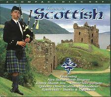 FAVOURITES SCOTTISH - 3 CD BOX SET - JIMMY SHAND JNR, ROBIN HALL & MORE