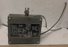 Control Switch Box Ay P/N: 12000023 - for Military 1.5 Kw - 28 Vdc Gen Set (Nos)