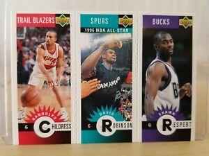 David ROBINSON 1996-97 Collector's Choice - Upper Deck Mini-Cards #M73 / Mint