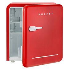 1.6 Cu Ft Retro Mini Fridge Compact Refrigerator Freezer Classic Dorm Office Red