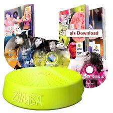Zumba Set inkl 4 DVDs Stepper B WARE Aerobic Fitness Abnehmen Mediashop