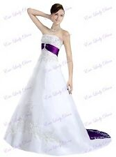 2016 Vintage Wedding Dress Bridal Gown Plus Size Custom Made Size 2-20