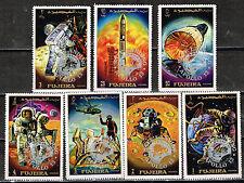 Fujeira US Space Apollo13 set 1972 MNH