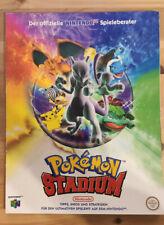 Pokémon Stadium Spieleberater / Lösungsbuch / Nintendo 64 / N64 / Guide