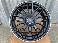 19x85 19x95 35 5x112 Staggered Black Wheels Rims Fits Mercedes Benz Set Of 4