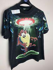 Vintage 1997 Looney Tunes Taz All Over Print Original T Shirt Tee Xl Warner Bros