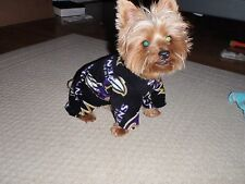 Baltimore Ravens Fleece Dog Coats