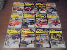 Street Rodder Magazine Lot 2003 Full Year Classic Muscle Cars Street Rods