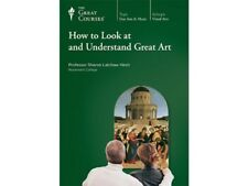 The Great Courses How to Look at and Understand Great Art Transcript Book New