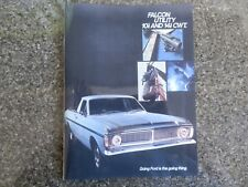 1970 XY FORD FALCON UTE SALES BROCHURE.  100% GUARANTEE.