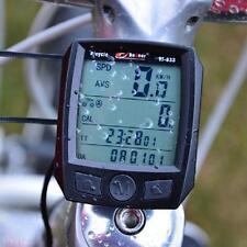 Waterproof MTB Bike Cycling LCD Digital Computer Odometer Speedometer New Arrive