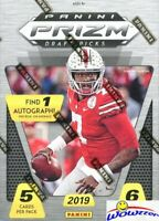 2019 Panini Prizm Draft Picks Football EXCLUSIVE Sealed Blaster Box-AUTOGRAPH