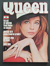 Queen Magazine 28 February 1968 Leslie Caron Cover Fashion Style Helmut Newton
