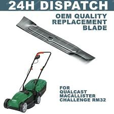 More details for 32cm 320mm lawnmower blade fits qualcast macallister challenge rm32, m2e1032m