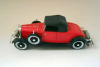 1932 LINCOLN ROADSTER FORD 1:32 METALICO MINIATURAS COCHES MAQUETAS DIORAMAS