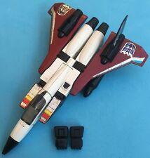 -- G1 Transformers-Decepticon JET statoreattore-CON LE ALI PUGNO Pistola.
