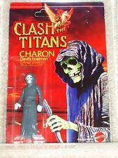 Vintage CLASH OF THE TITANS 1980 MATTEL AFA 80 CHARON CARD MOC UNP CLEAR BUBBLE!