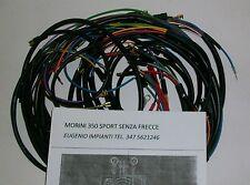 IMPIANTO ELETTRICO ELECTRICAL WIRING MOTO MORINI 350 SPORT SENZA FRECCE 1° SERIE