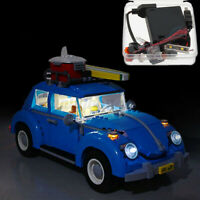 LED Licht Beleuchtungs Set Für Lego 10252 Volkswagen Käfer Modell + Battery Box