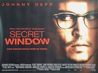 Secret Fenster Original Filmposter