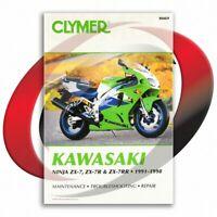 1993-1995 Kawasaki ZX-7 L1/L2/L3 Repair Manual Clymer M469 Service Shop Garage